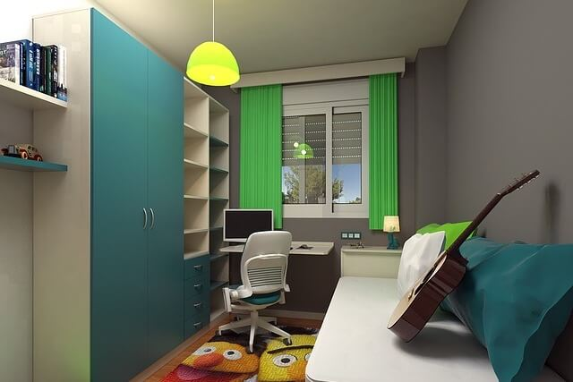 Möbel im Jugendzimmer