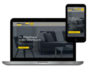 Website Möbelhaus
