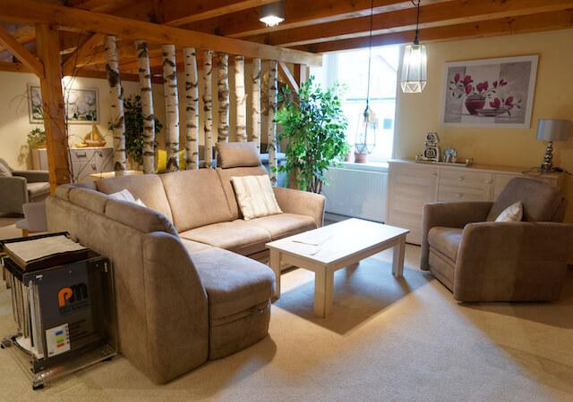 Möbel für Umgebindehäuser Wohnzimmer