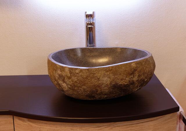 besonderes Waschbecken