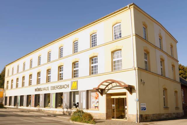 Möbelhaus Ebersbach Außenansicht klein